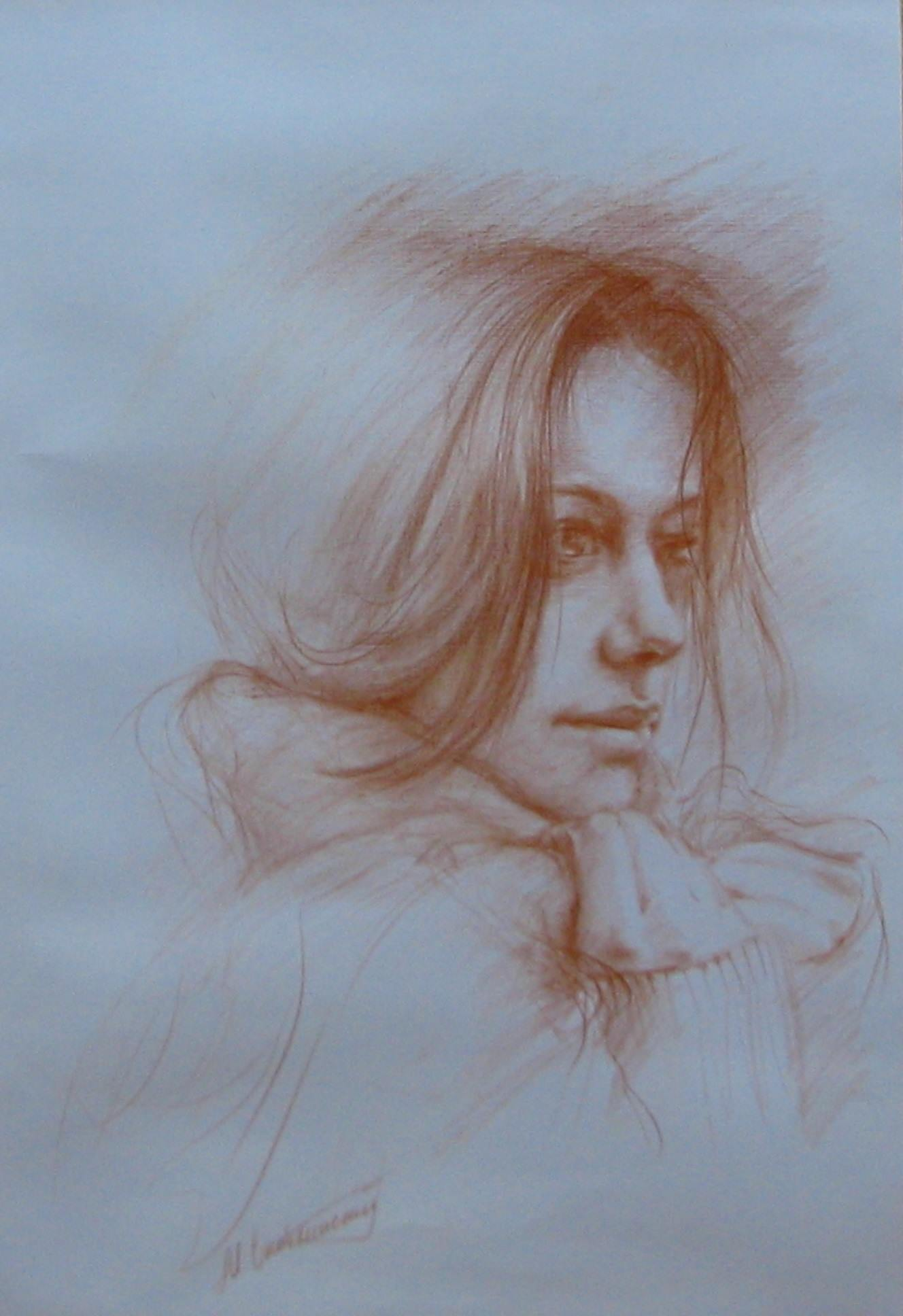 Картина карандашом