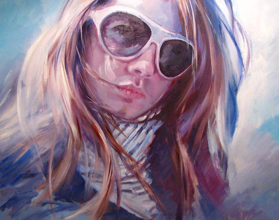 Портрет малом Дочь