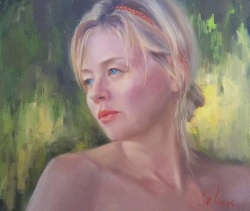 Картина женщины