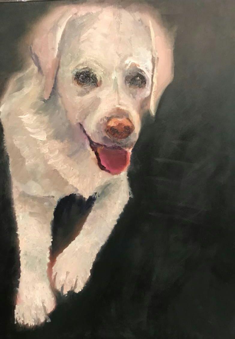 картина верный пес