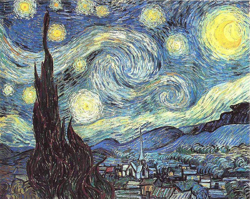 Курс «Звездная ночь» Ван Гог