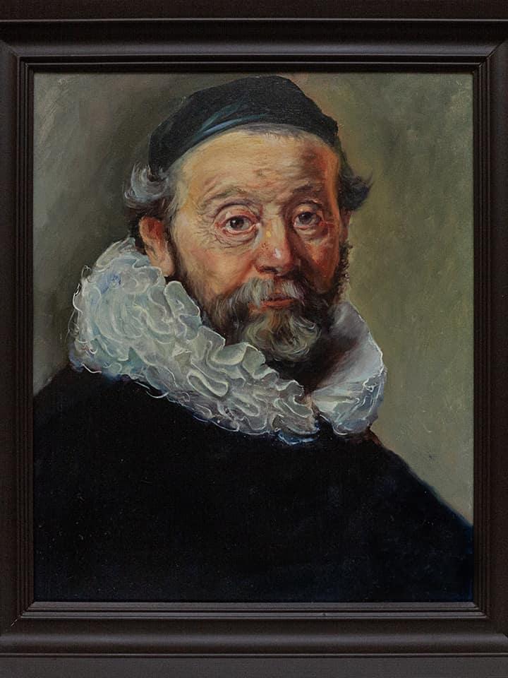 Рембрандт фрагмент картины