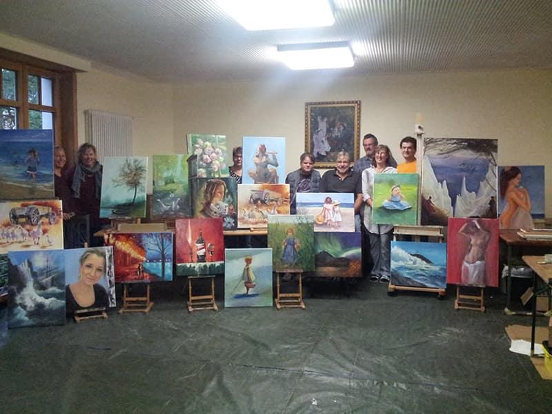 Картины учеников