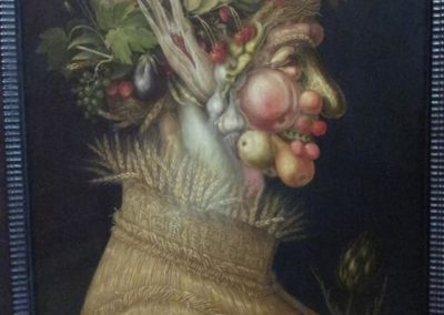 Джузеппе Арчимбольдо. Лето фруктовый образ
