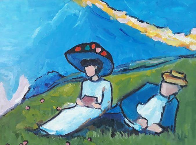 Индивидуальное обучение рисунку и живописи онлайн
