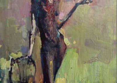 нарисовать картину женщины фигура детали