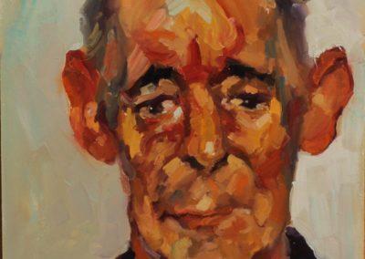 Картина маслом портрет Индейца .картина на заказ по фото портрет маслом , художник Макс Скоблинский